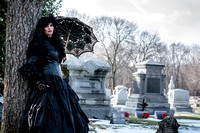 Graveyard Photo Shoot~Fox Valley Cosplayers~1.20.18